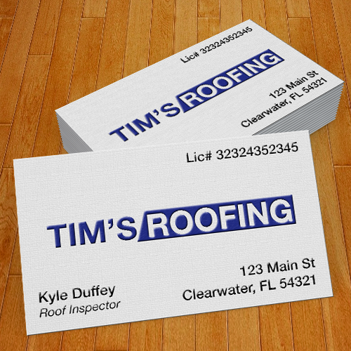 1 Sided Business Cards