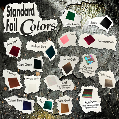 Foil Swatches 01